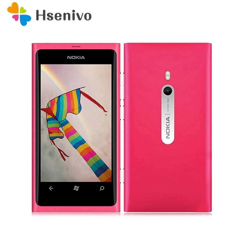 Nokia 800 reformado-Original Lumia 800 3G WIFI GPS 8MP Cámara 16GB desbloqueado...