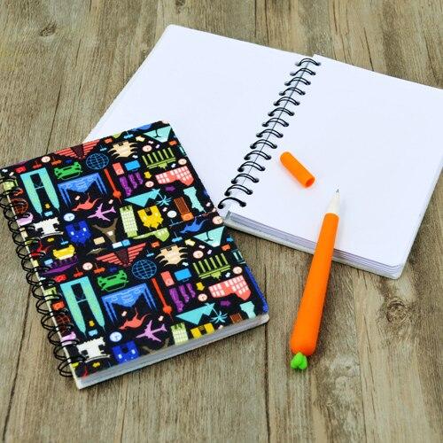 10 قطعة/الوحدة DIY التسامي فارغة Heatpress ورأى دفتر مع لفائف اللوحة غطاء ورقة كتاب دفتر مكتب اللوازم المدرسية هدية