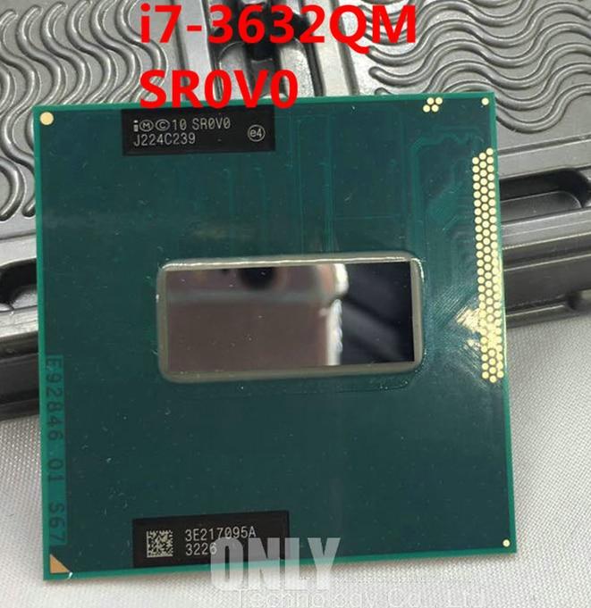 free shipping Intel CPU SR0V0 i7-3632QM Intel Core i7 Mobile Chip central processor 2.2GHZ 6MB SROVO I7 3632QM