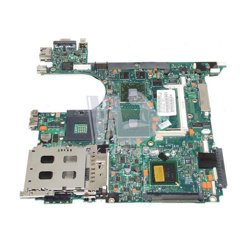 382688-001 para HP Compaq NC8230 NX8230 placa base de computadora portátil 915PM DDR2 ATI X600 6050A0052301-MB-A03