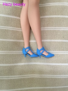 New styles shoes high heel shoes flat foot shoes  silver shoes for your Tall and curvy Barbie dolls BBI285