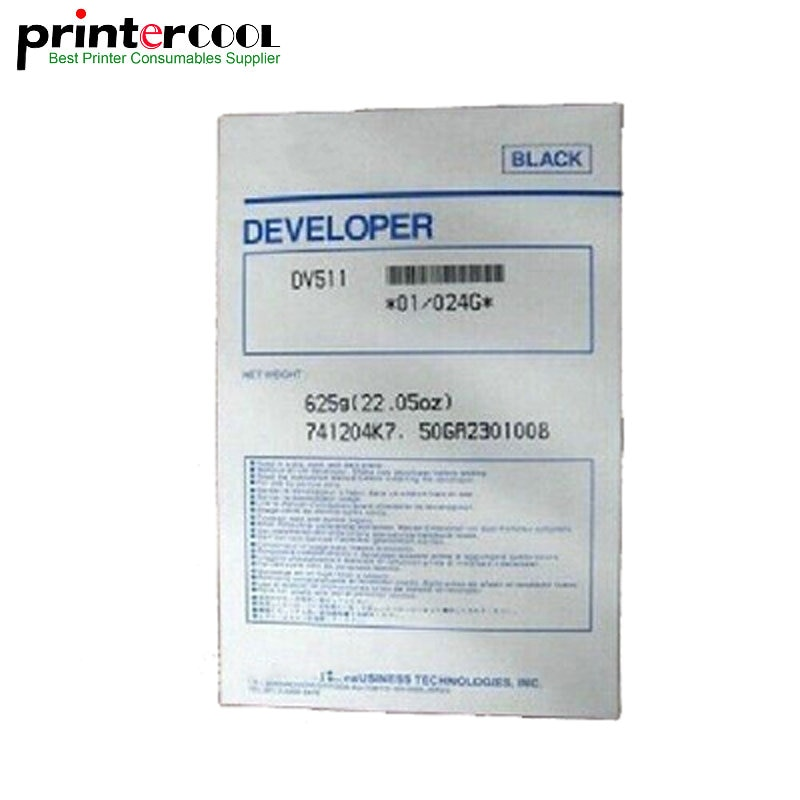 Einkshop 625g совместимый DV511 Разработчик для Minolta BH420 421 500 501 7145 части копира