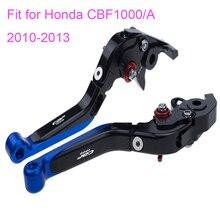 KODASKIN Folding Extendable Brake Clutch Levers for Honda CBF1000 CBF1000A 2010-2013