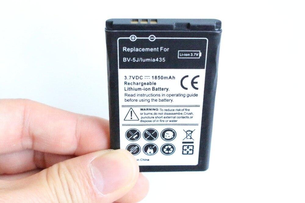 1850 mAh BV-5J/BV 5J/BV5J batería de repuesto para la batería de Microsoft Nokia Lumia 435 Lumia435 532 RM1069 1071 + código de seguimiento