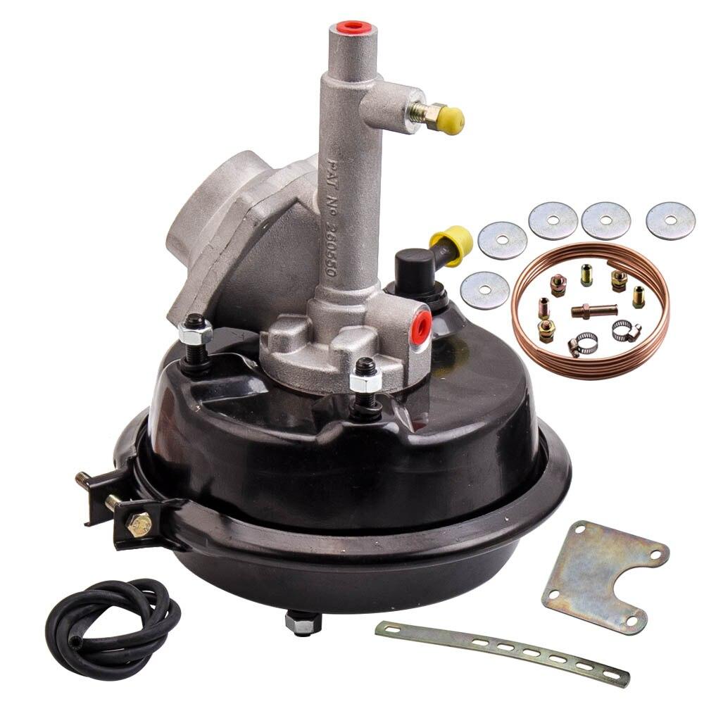 """Vh44 remoto freio booster & suporte kit de montagem para 4 roda tambor freio 7 """"180mm"""