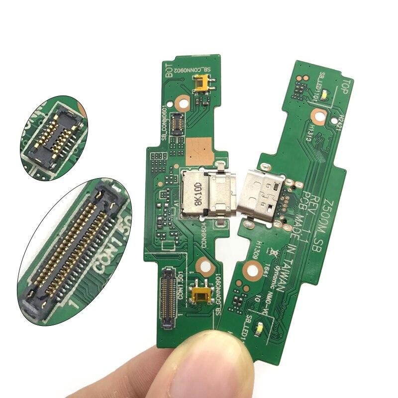 Nuevo para ASUS Zenpad 3S 10 Z500M cargador USB Puerto Cable flexible de conector Dock pieza de repuesto