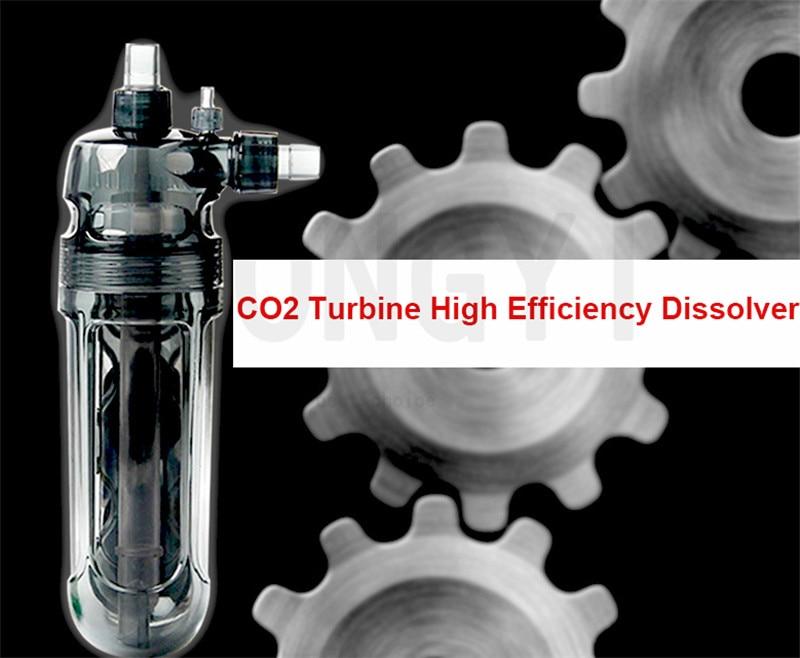 ISTA external turbine CO2 CO2 dissolution refinement diffuser set equipment