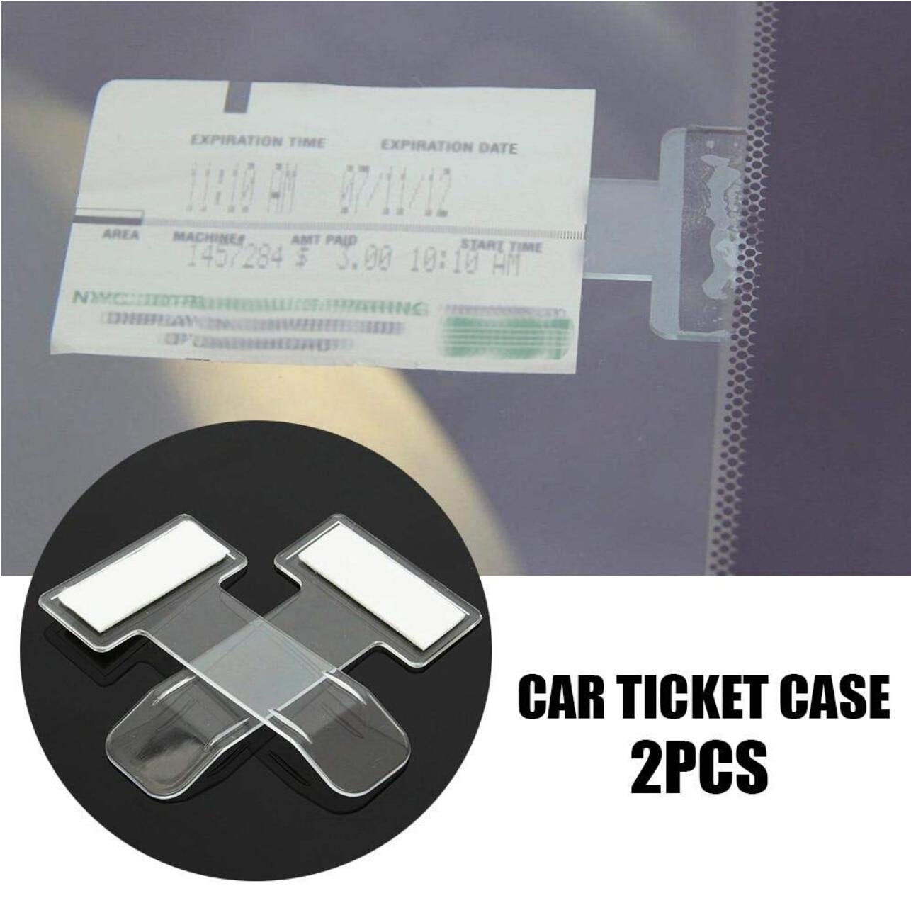 Автомобильный зажим для парковочных билетов из углеродного волокна для toyota aygo a golf 5 ibiza dacia duster fiat 500 suzuki seat honda civic 2017