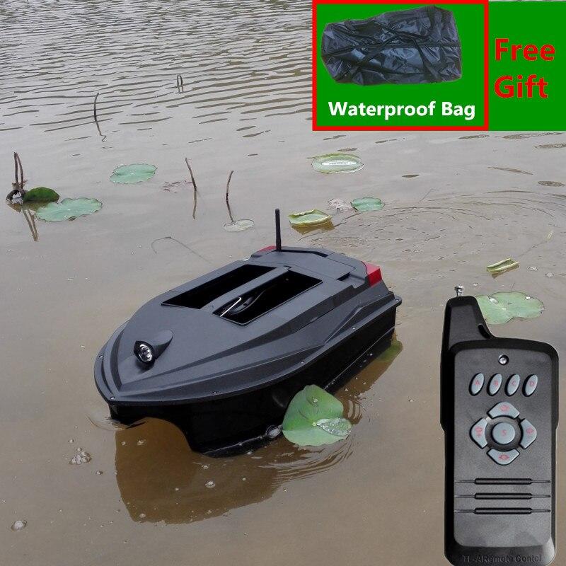 Free B Professional Fishing Equipment RC Bait Boat TL-380A Intelligent Auto Hook Wireless Silent RC