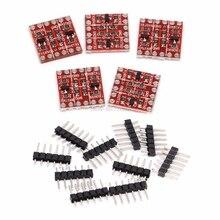 5 Sets 4 Kanal Bi-Directional Logic-Level-Shifter Konverter 3,3 V-5V Logics-Level-Converter Dropship
