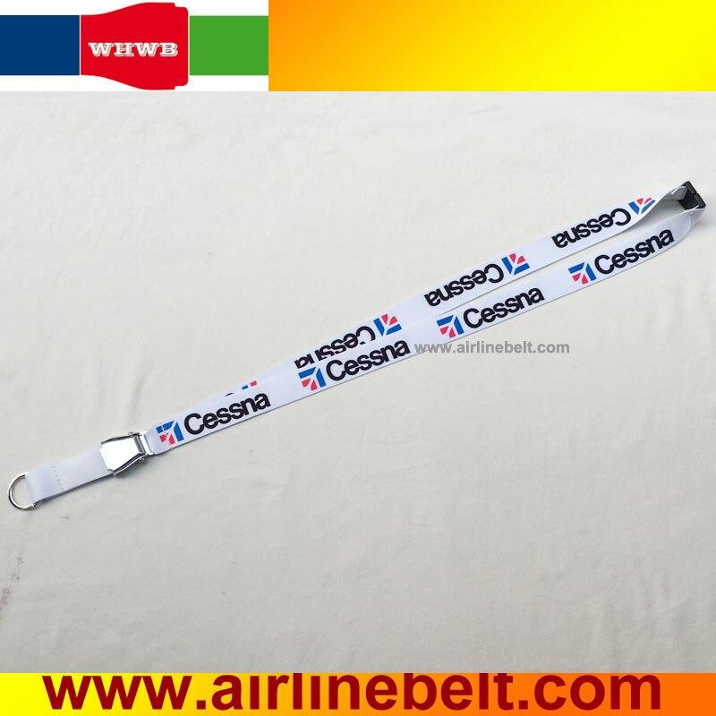 Cinturón de seguridad de avión de línea aérea Cessna, cordón de hebilla de seguridad para Textron América Estados Unidos helicópteros aeroplano modelo cordón para enamorados