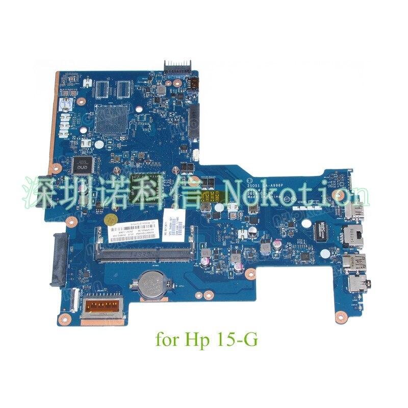 NOKOTION ZSO51 LA-A996P REV 4,0 de 764264-501, 764264-001 para HP Pavilion 15-G placa base de computadora portátil DDR3