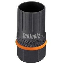 Icetoolz 09b3 bicicleta freewheel ferramenta para shimano & campagnolo cassete 12-dente bb bicicleta ferramentas de reparo cassete remover ferramenta