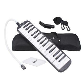 Прочные 32 клавиши для фортепиано Мелодия с сумкой для переноски музыкальный инструмент для любителей музыки подарок для начинающих изысканное мастерство