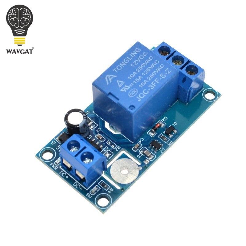 WAVGAT 12В 1-канальный сенсорный релейный модуль емкостный сенсорный переключатель для Arduino TTP223