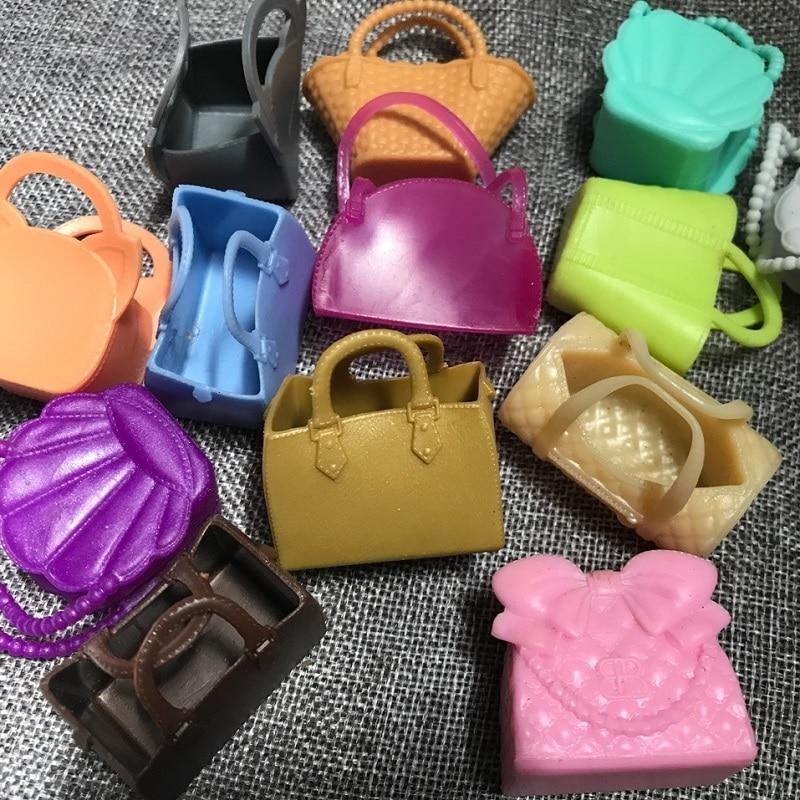 5 teile/satz LoL Puppe Zubehör Tasche Spielzeug Mädchen Geschenk Pädagogisches Spielzeug LoL Puppe Zubehör Puppen Tasche verschiedene stil