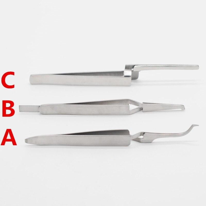 Soporte Posterior de ortodoncia de dentista tubo bucal de sujeción pinza titular Placer para artículo de laboratorio Dental