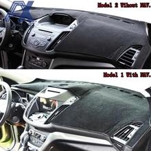 Xukey Dash Mat Dashmat Dash pokrowiec deski parasol przeciwsłoneczny Dash pokrowiec deski dywan dla Ford Escape Kuga 2013 2014 2015 2016 2017 2018