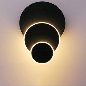 Thrisdar Deformable Creative Art LED Wall Lamp Nordic Personality Restaurant Bar Cafe Wall lamp Balcony Aisle Wall Lamps