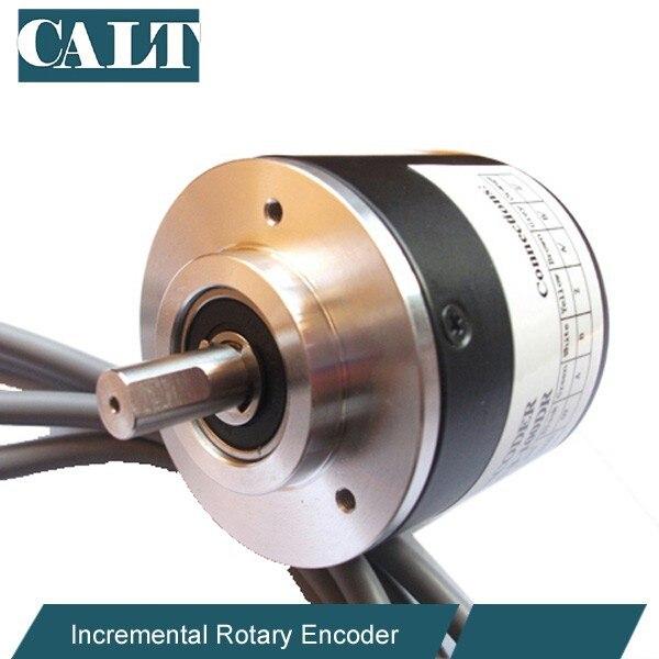 8mm shaft Incremental optical encoder sensor 2500ppr line driver output