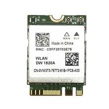 Per Broadcom BCM94350ZAE DW1820A 802.11AC 867 Mbps NGFF Scheda Bluetooth 4.1 Senza Fili di Meno di DW1560