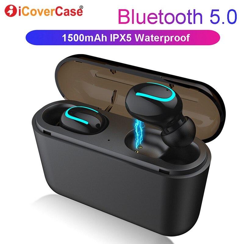 Bluetooth Earphone For Huawei Nova 4 3 3i 3e 2 2s plus Y3 2017 Y5 prime Y7 pro Y9 2018 Y6 II Compact Wireless Headphones Earbuds