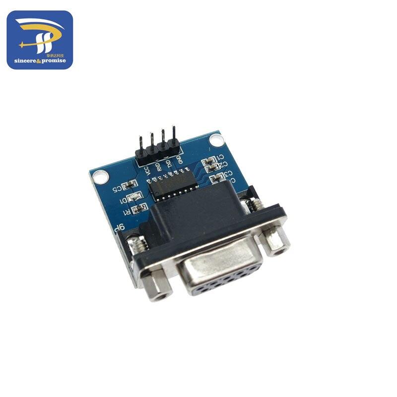 Módulo convertidor de puerto Serial MAX3232 RS232 a TTL, conector DB9 MAX232