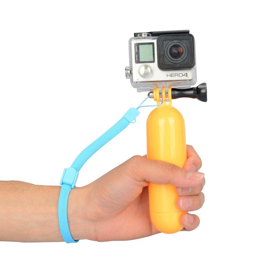 Аксессуары Kingma, стержень плавучести с закругленным дном для экшн-камеры Xiaomi Yi GoPro Hero 5 4 Sjcam, удерживающая селфи-палка, плавающая панель