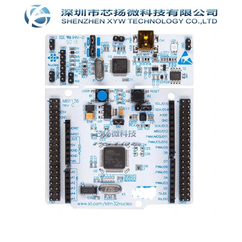 Original NUCLEO F401RE Entwicklung Boards & Kits-ARM Nucleo Bord STM32F4 STM32F401RE 512K NUCLEO-F401RE