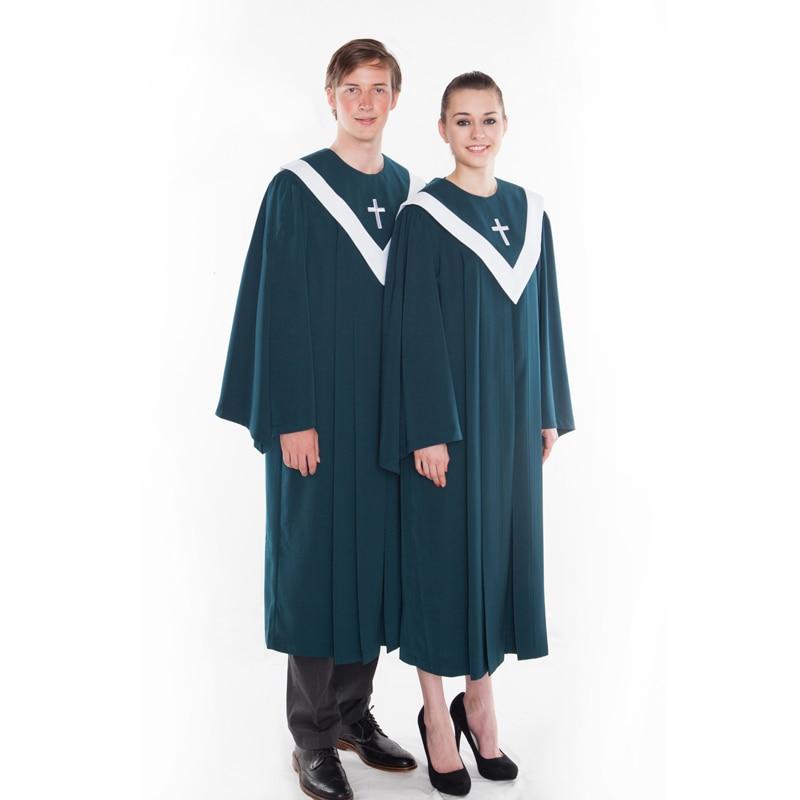 Coro Iglesia cristiana vestido himno poema ropa de iglesia cristiana del poema dellinno kirchenchor hymne gewand gedicht vestido