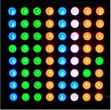 LED Dot Matrix Display 8x8 5mm RGB LED display 2388RGB