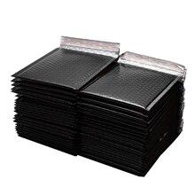 50 pcs/Lot or papier bulle rembourré enveloppes enveloppes cadeau sac 150x180mm bulle postale enveloppe sac emballage expédition sacs