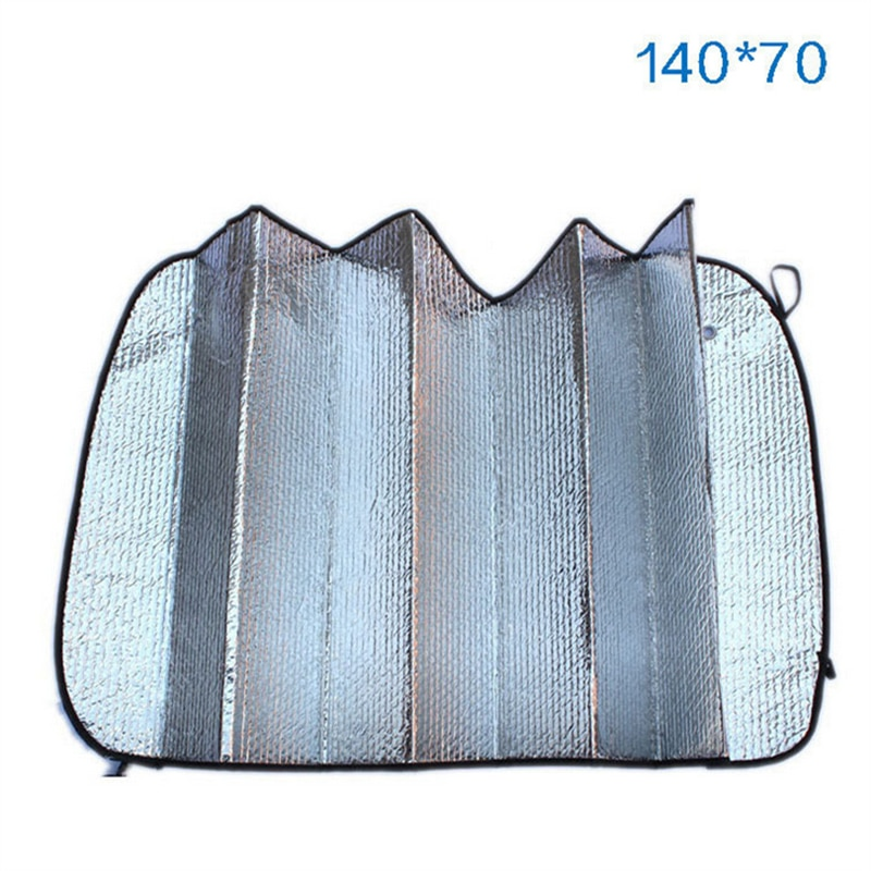 Car SunShade Sunscreen Aluminum Foil Sticker Windshield Wrap Auto Accessories for Audi BMW MINI VW GOLF 4 5 6 7