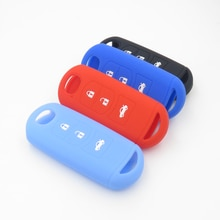 SILICONE RUBBER CAR KEY COVER FOR MAZDA 3 5 6 Axela CX5 CX7 KEY CASE FOR CAR INTERIOR ACCESSORIES NO