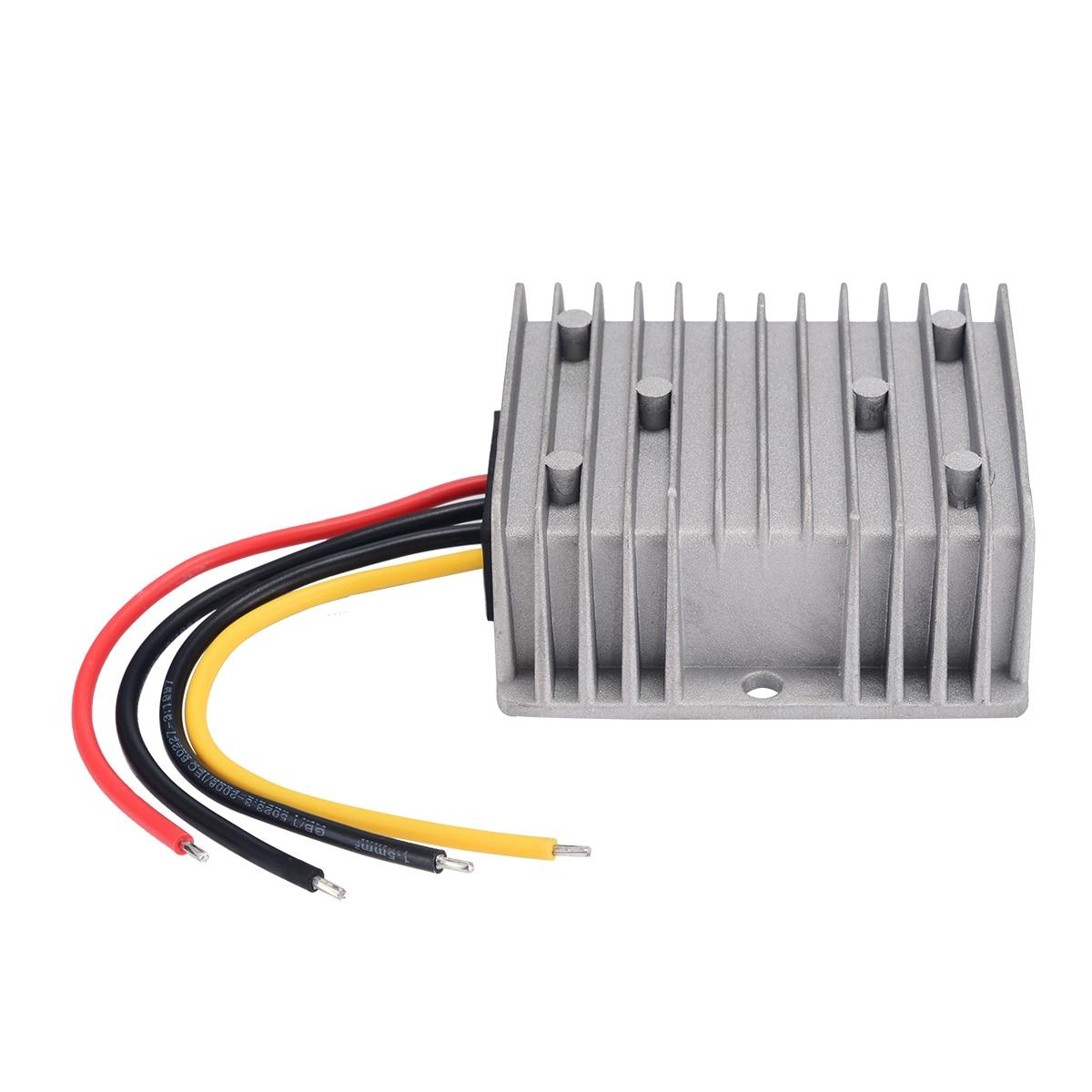 Mayitr Step-Down Converter DC/DC 24V to 12V Car Power Supply Module Regulator 20A 240W Durable Converter