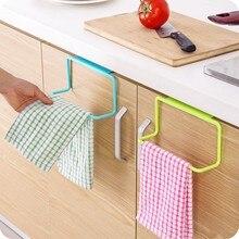 towel racks for bath Kitchen high quality Towel Rack Hanging Holder Organizer Bathroom Cabinet Cupboard Hanger^5