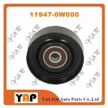 Polea-IDLER para FITNISSAN R50 QX4 Z51 Z50 350Z WD21 A33 J30 VQ20DE VQ30DE VQ35DE VG30E VG33DE VG35E 2,0 3,0, 3,3, 3,5, 11947-0W000