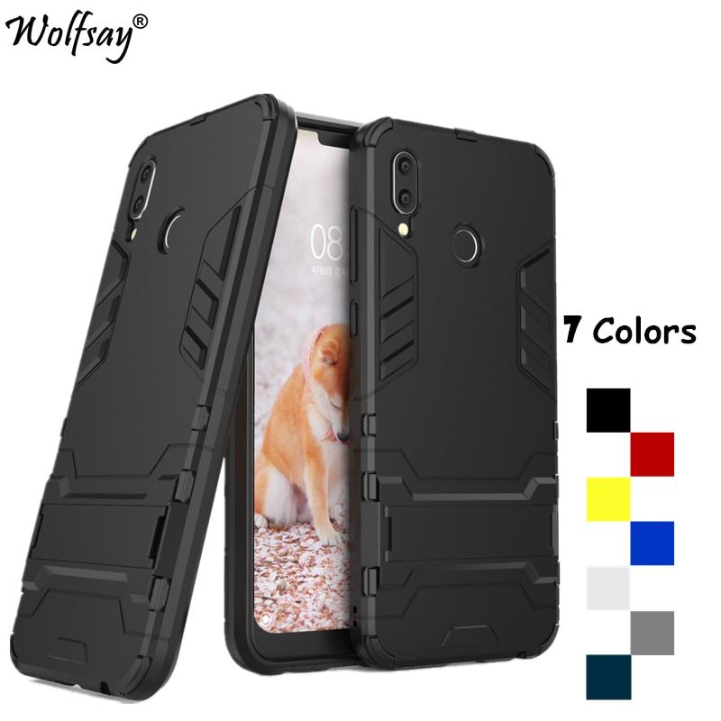 Funda de Wolfsay para Huawei Honor Play Case On Honor Play a prueba de golpes de silicona delgada carcasa de plástico para Huawei Honor Play COR-L29
