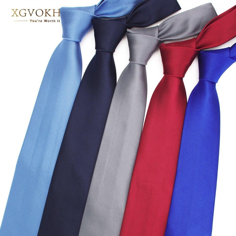 Мужской галстук однотонный формальный галстук деловой Свадебный классический мужской галстук 8 см галстуки для платья модные аксессуары д...
