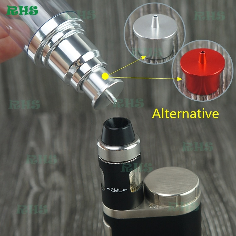 10 комплектов Бесплатная быстрая доставка DHL Автомобильная установка электронная сигарета бутылка для сока стоящий насос EZ Dripper для испарит...