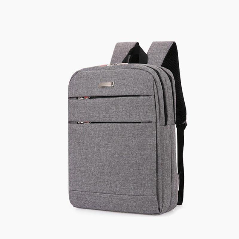 Новинка 2020, стильный многофункциональный мужской однотонный рюкзак, деловая Повседневная сумка для компьютера, Студенческая сумка