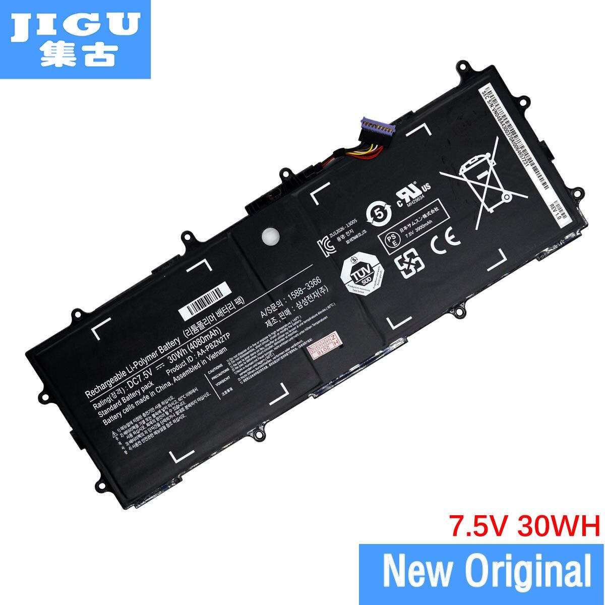 JIGU AA-PB2N2TP AA-PBZN2TP Original batería para ordenador portátil SAMSUNG 905S3G 910S3G 915S3G XE303C12 para Chromebook 2 3 30WH