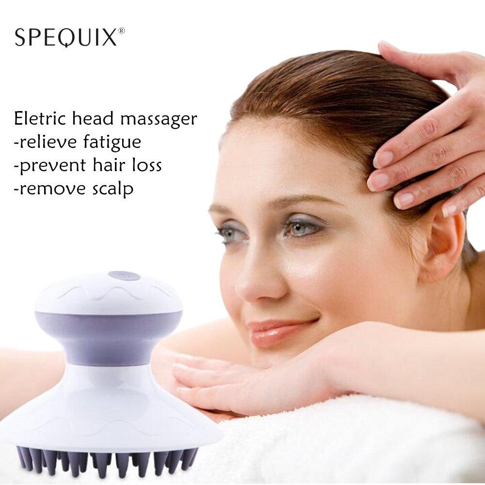 Electric Head Massager Body Head Scalp Massage Comb Promote Blood Acupressure Point Massage Brush