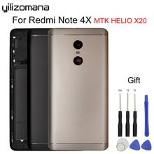 YILIZOMANA запасная батарея задняя крышка чехол для Xiaomi Redmi Note 4X MTK Helio X20 металлический корпус двери
