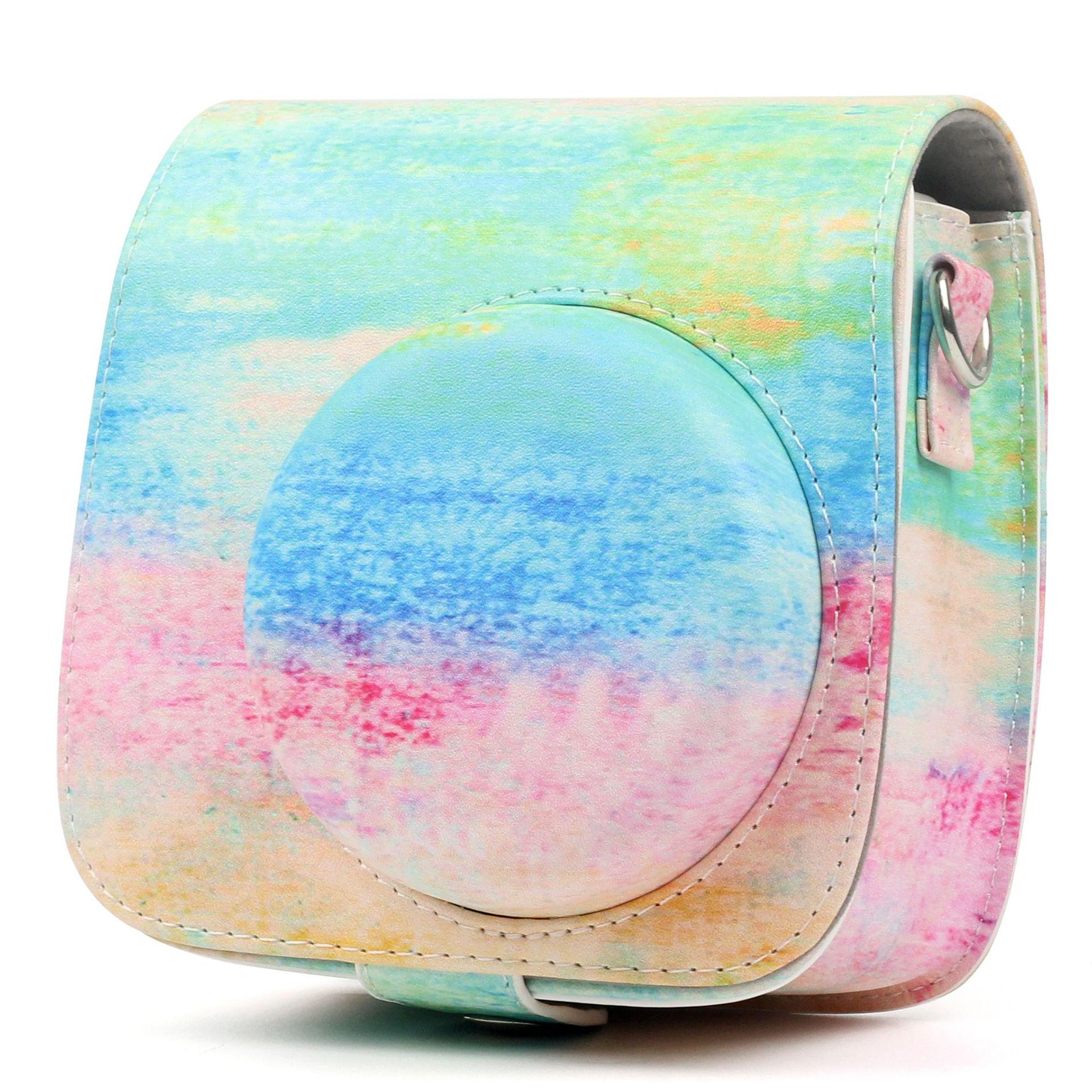 Fujifilm Instax Mini 9 8 8 + аксессуар для камеры Художественная масляная краска искусственная кожа мгновенная камера защитная сумка на плечо Чехол