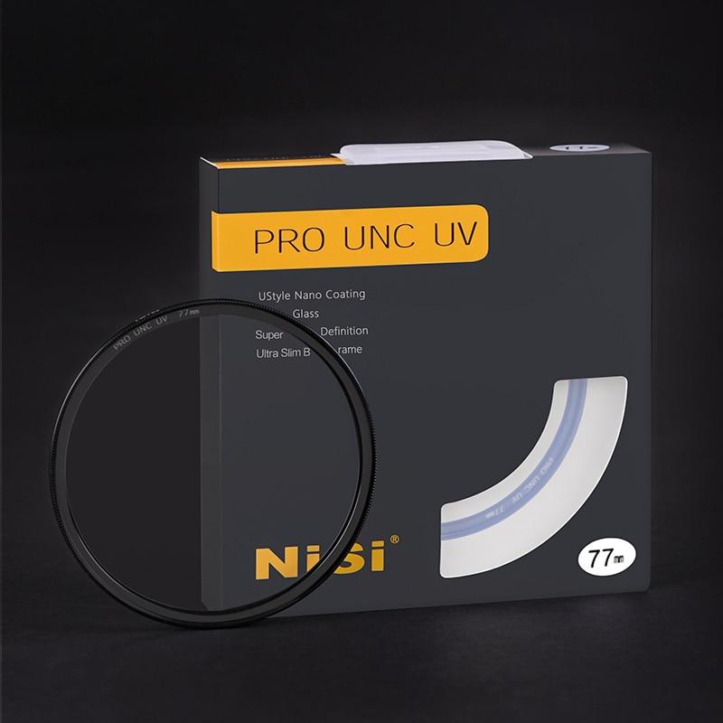 مشروط حامي UNC UV عدسة تصفية الزجاج البصري H-K9L 52 58 62 67 72 77 82 مللي متر لكانون نيكون سوني كاميرا عدسة