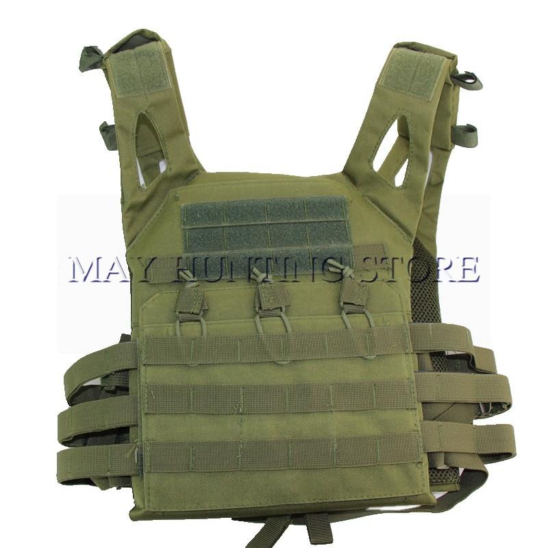 Tático molle jpc colete placa de camuflagem transportadora munição equipamento peito colete caça airsoft combate ao ar livre paintball cs corpo armadura colete