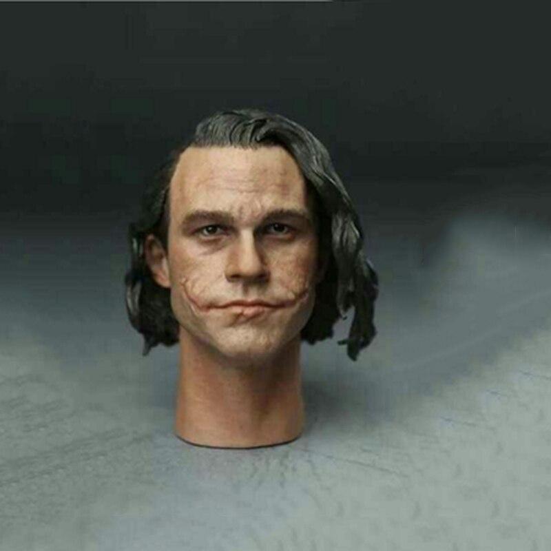 1/6 Joker Heath Ledger Head sculpt Cleansing Edition for 12 Action Figure DIY