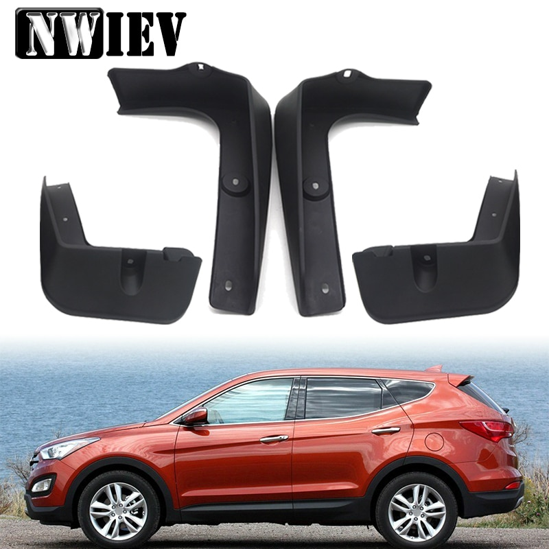 Guardabarros delantero trasero de estilo NWIEV para coche modificado para Hyundai IX25 IX35/tufson 2010-2015 IX45/Santa Fe (DM) 2013-2014 guardabarros
