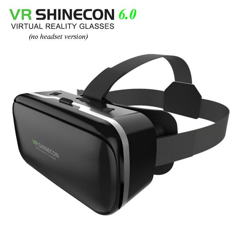 VR SHINECON-gafas de realidad virtual 6,0 vr box 2,0 3d, gafas de...